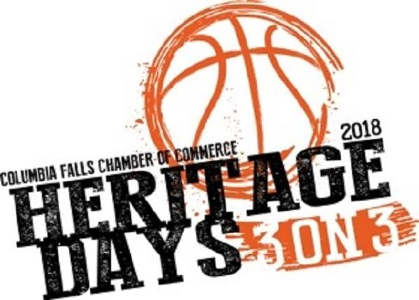 Columbia Falls Chamber of Commerce 2018 Heritage Days 3 on 3 Coming Soon